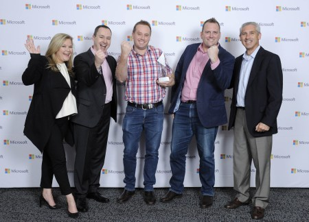 Microsoft Emerging Partners Team Photo